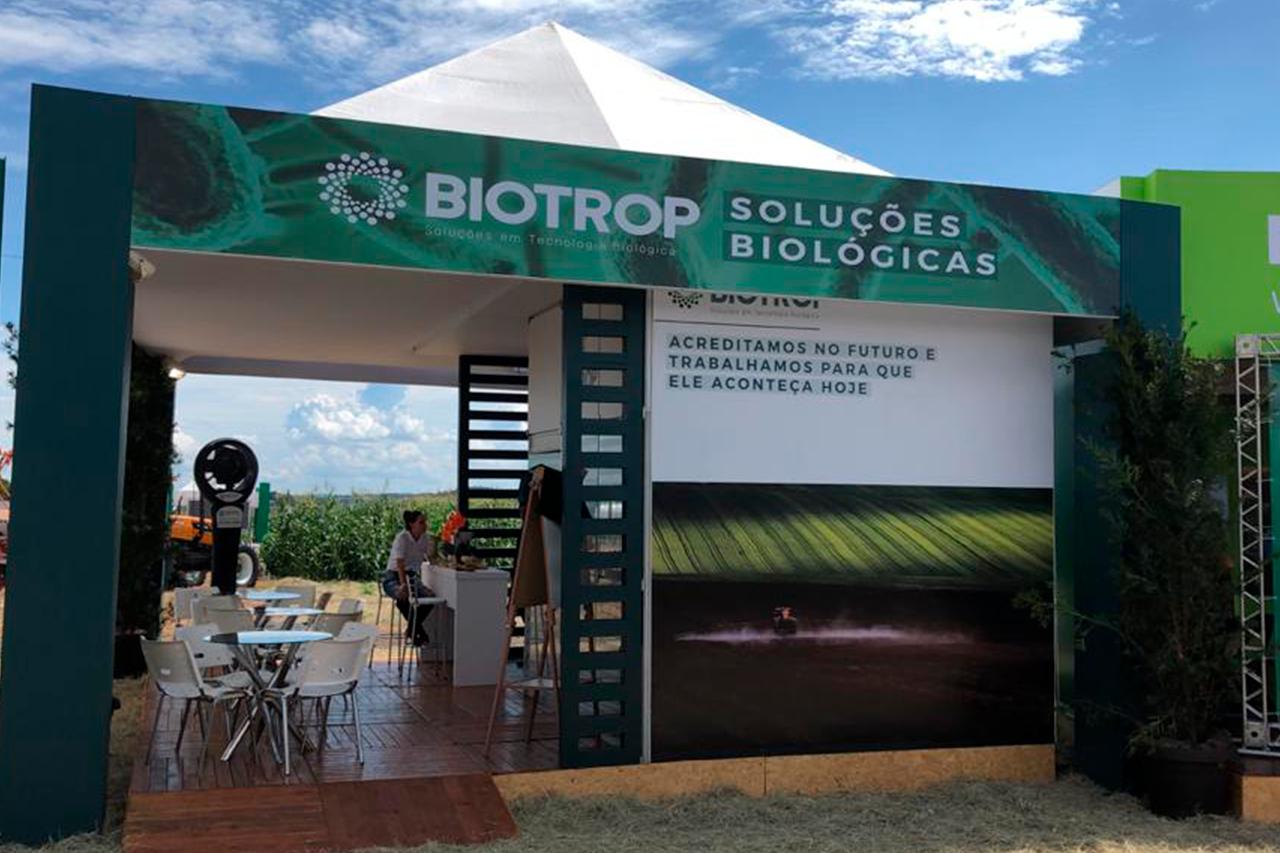 Biotrop leva seus produtos ao balcão de negócios da Superagro
